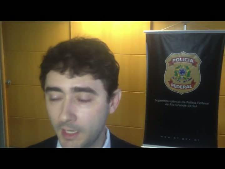Delegado Farnei Siqueira, da Interpol, fala da investigação que resgatou menino sequestrado pelo pai. 16/04/2013
