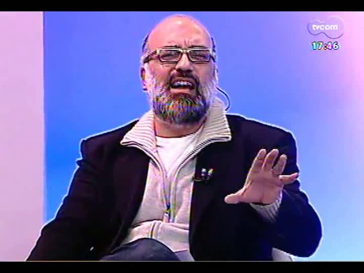 Programa do Roger - Entrevista com os artistas visuais Elida Tessler e Paulo Pasta - bloco 1 - 05/06/2013