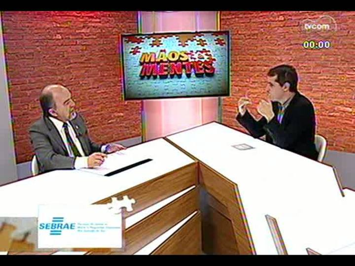 Mãos e Mentes - Secretário de Segurança do RS, Airton Michels - Bloco 3 - 19/06/2013