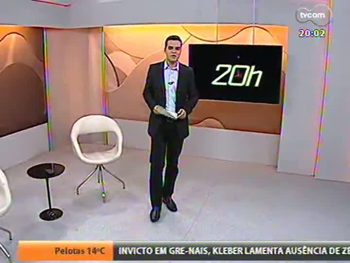 TVCOM 20 Horas - Informações sobre a manifestação em frente à Praça da Matriz - Bloco 1 - 01/08/2013