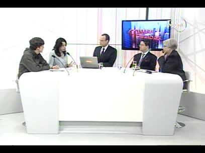 Conversas Cruzadas - Projeto de lei pune mais aluno 4ºbloco - 31/10/13