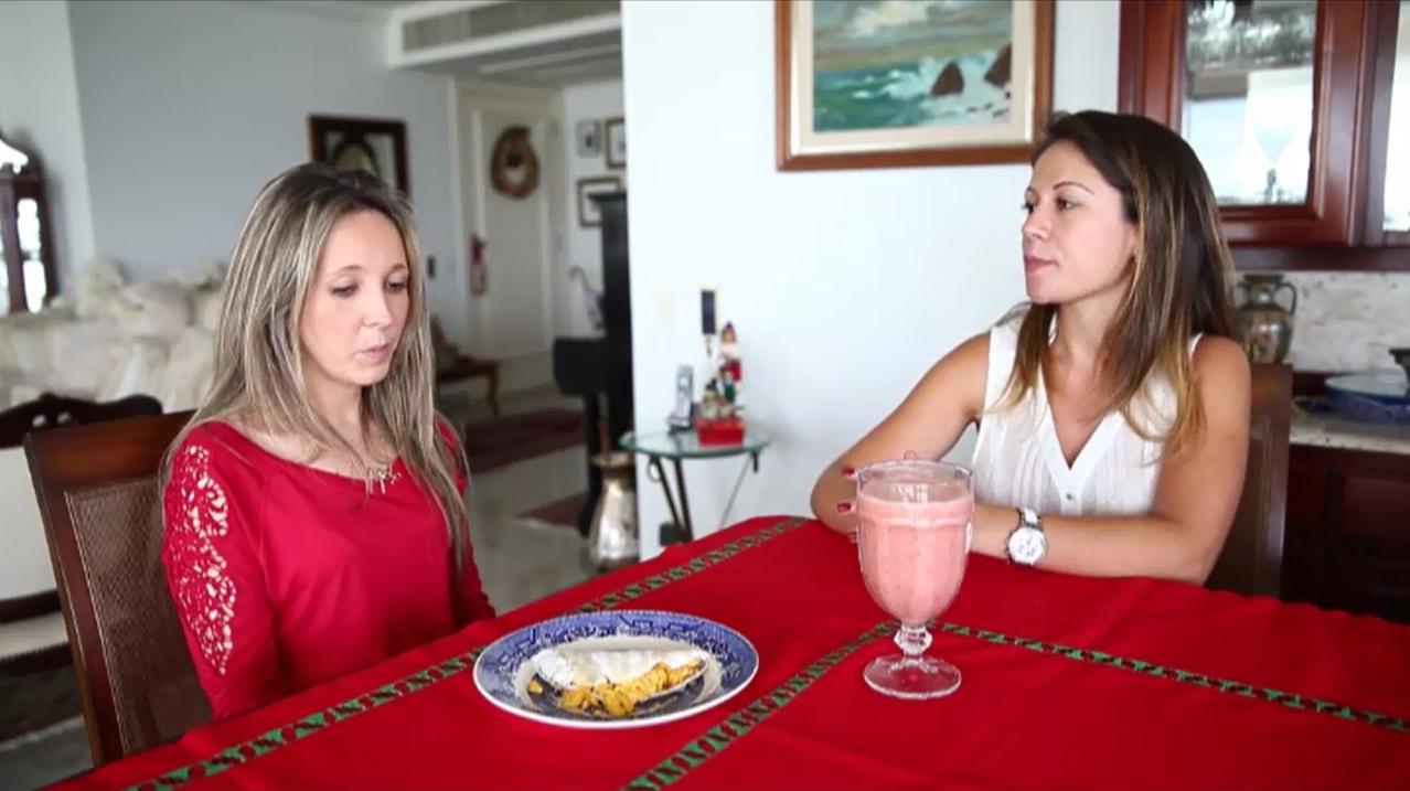 A nutricionista Ana Carolina Abreu elabora o cardápio do vestibulando e faz duas receitas para ajudar a manter a concentração e a energia necessárias nos próximos dias