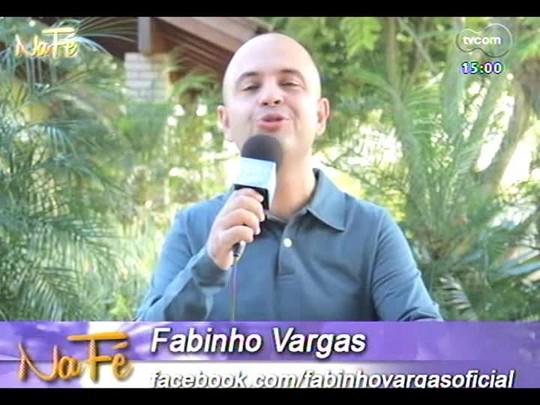 Na Fé - Clipes de música gospel e bate-papo com o músico Fábio Sampaio - 01/06/2014 - bloco 1