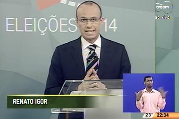 Debate com os candidatos ao senado - 4º Bloco - 29/09/14