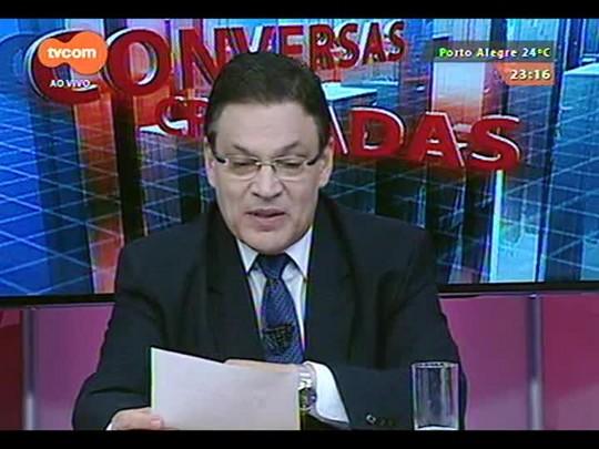 Conversas Cruzadas - O trabalho do novo Secretário da Segurança a partir de janeiro Wantuir Francisco Brasil Jacini - Bloco 4 - 16/12/2014