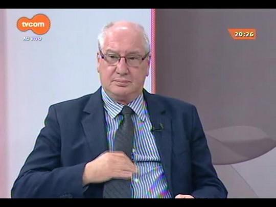 TVCOM 20 Horas - Presidente da Câmara de Vereadores de POA Professor Garcia faz balanço de 2014 - 23/12/2014