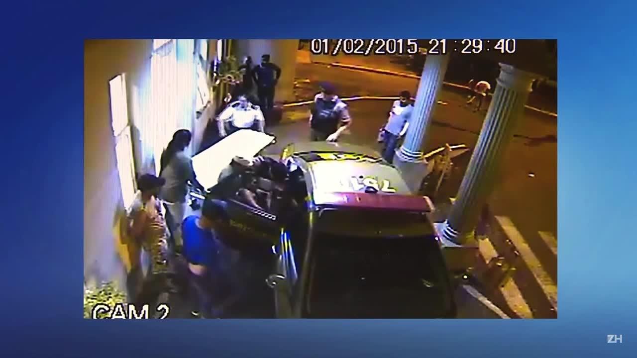 PMs entram em local onde torcedor baleado era atendido