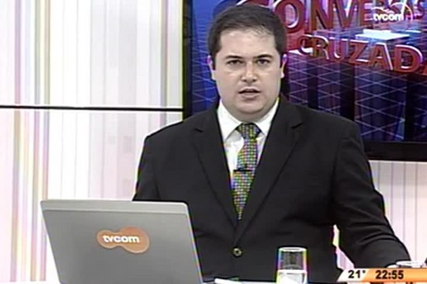 Conversas Cruzadas - Morte do senador Luiz Henrique da Silveira - 4º Bloco - 11.05.15