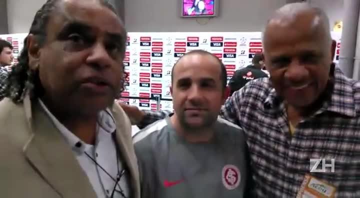 Jajá, Dadá e irmão de Aguirre comentam a vitória colorada
