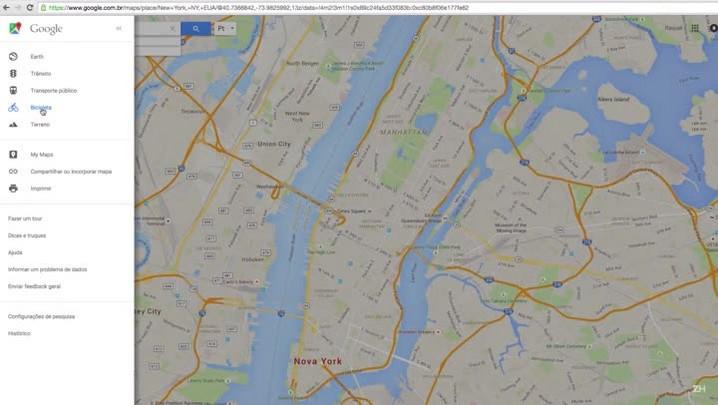Aprenda a encontrar ciclovias no Google Maps
