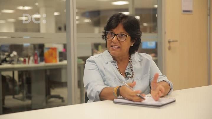 DC 30 anos: Ângela Bastos conta como entrou no Diário Catarinense