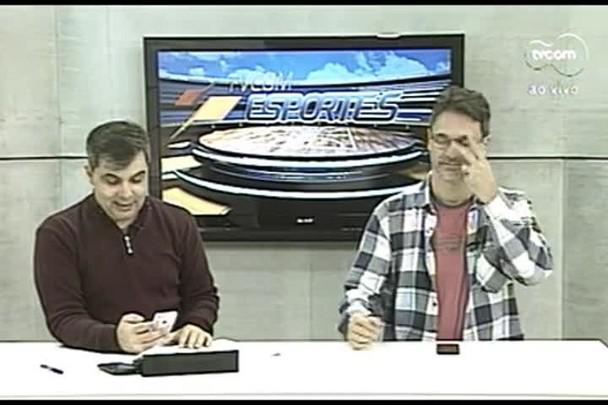 TVCOM Esportes. 3º Bloco. 15.07.16