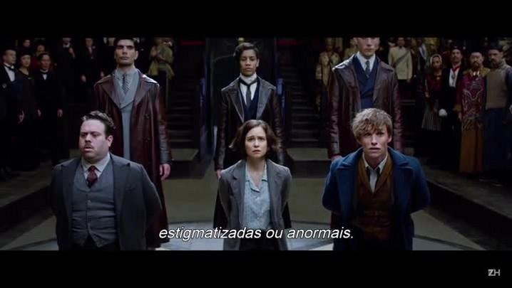"""J. K. Rowling fala sobre Newt Scamander em \""""Animais fantásticos e onde habitam\"""""""