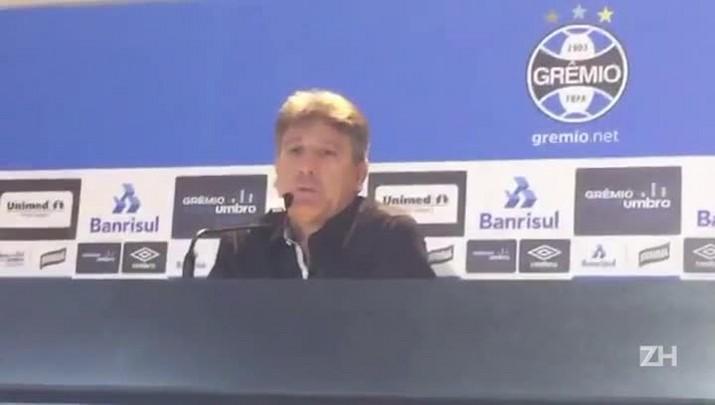 Renato elogia atuação do Grêmio e comemora confiança do time