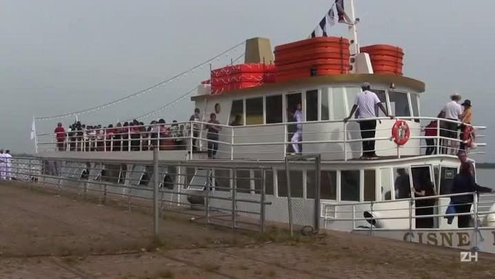 Cisne Branco retoma viagens no Guaíba
