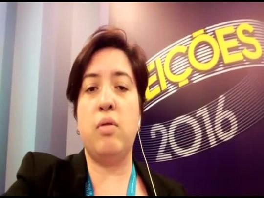 Aline Camargo comenta debate do segundo turno das eleições em Blumenau