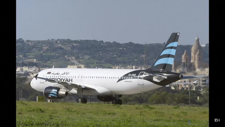Avião é sequestrado na Síria