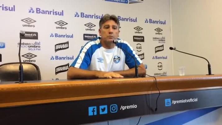 Renato fala sobre situação financeira do Grêmio