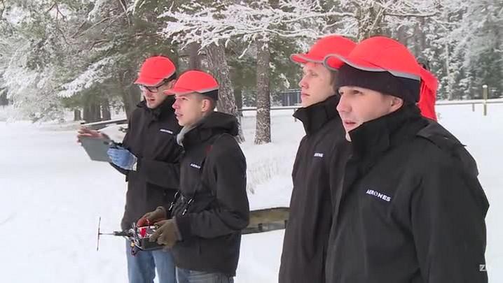 \'Droneboarding\' decola na Letónia