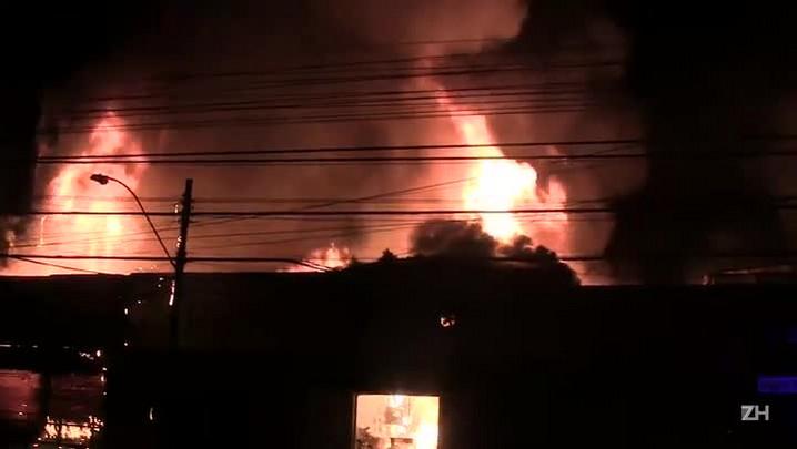 Capitão do Corpo de Bombeiros conta como foi o atendimento ao incêndio na Azenha