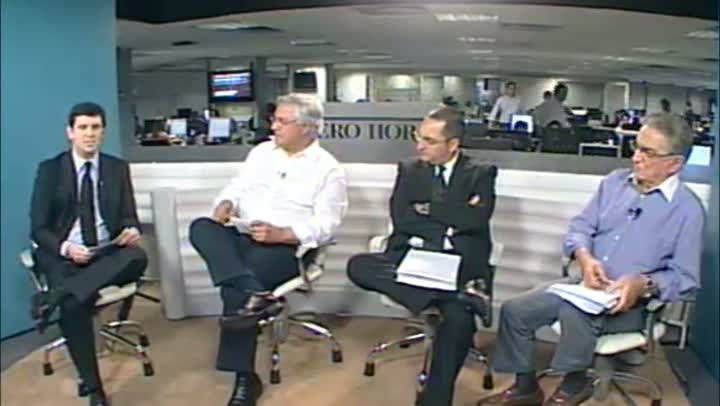 Candidatos à presidência do Grêmio debatem a Arena