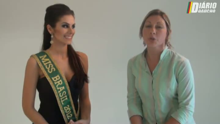 Vídeo: Miss Brasil afirma que não está solteira