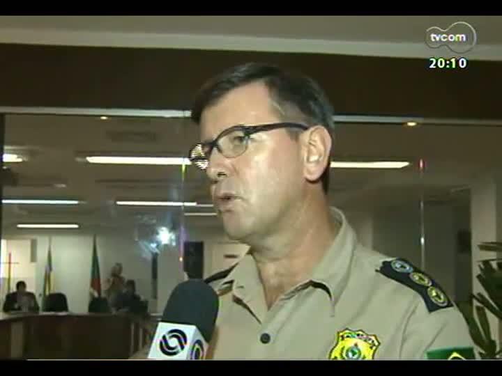 TVCOM 20 Horas - 17/12/12 - Bloco 2 - Trânsito no verão: multas para argentinos e caminhões na Estrada do Mar