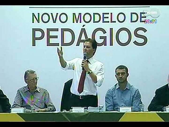 TVCOM 20 Horas - Discussão sobre novo modelo de pedágios no RS - Bloco 1 - 06/03/2013