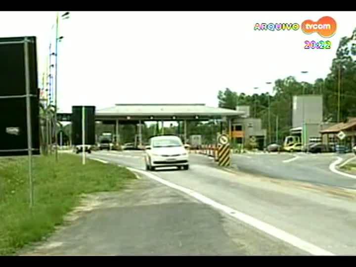 TVCOM 20 Horas - Entrevista com o presidente da EGR, Luiz Carlos Bertotto, sobre como será a administração de algumas rodovias do RS - Bloco 3 - 30/05/2013
