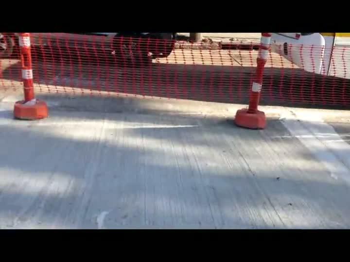 Falta de areia afeta ritmo das obras do corredores de ônibus em Porto Alegre. 07/06/2013