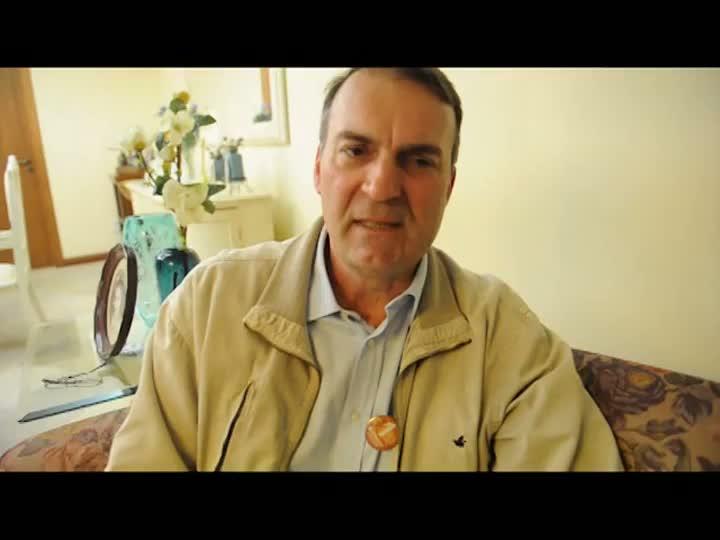 1 minuto - Paulo Burmann, Chapa 1 à reitoria da UFSM
