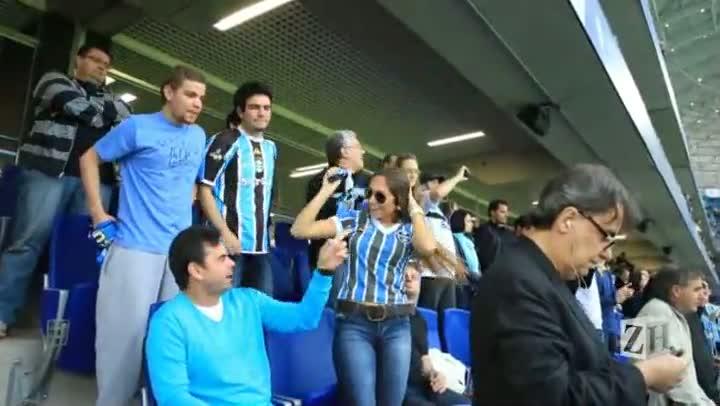 Clube da Bolinha: o primeiro jogo de Carol Portaluppi na Arena do Grêmio