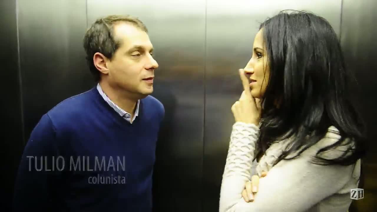 Conversa de Elevador: Alice Bastos Neves sapateando no elevador