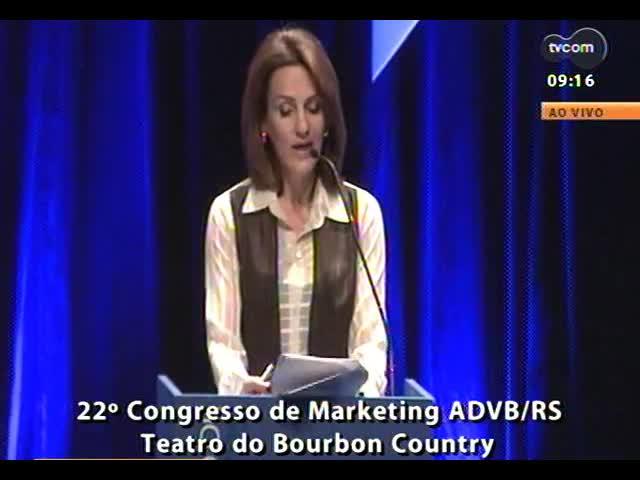 22º Congresso de Marketing ADVB - Abertura do evento, com Telmo Costa, presidente da entidade