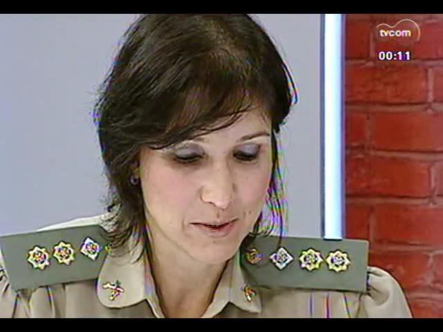 Mãos e Mentes - Tenente-coronel Nádia Gerhard, a primeira mulher a comandar um batalhão da Brigada Militar no RS - Bloco 4 - 17/11/2013