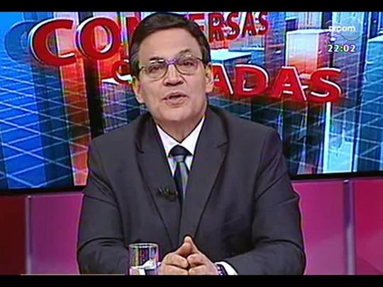 Conversas Cruzadas - Debate sobre o direito de greve nos serviços públicos - Bloco 1 - 31/01/2014