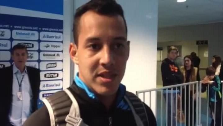 Rodriguinho fala sobre o gol que deu a vitória ao Grêmio - 18/5/2014