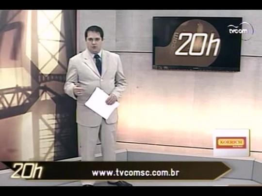 TVCOM 20 Horas - Depois das chuvas, governo libera recursos para a prevenção de desastres em SC - Bloco 2 - 10/06/14