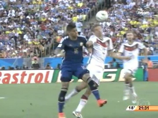 Bate Bola - Final da Copa do Mundo - 1ºBloco - 13.07.14