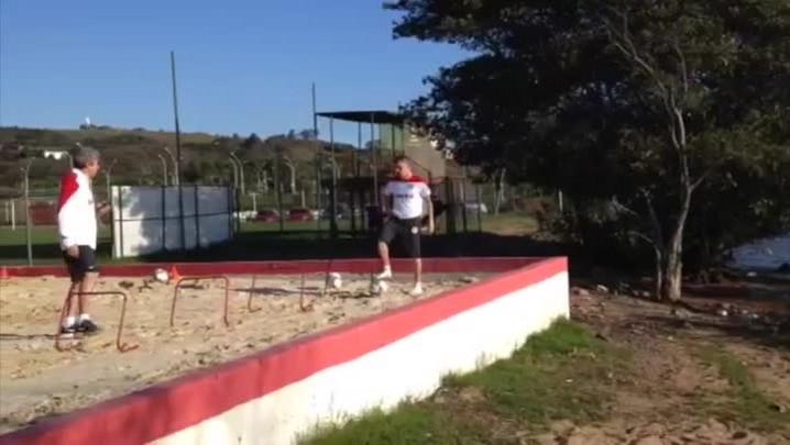 Veja como funciona o treinamento de recuperação de D\'Alessandro.
