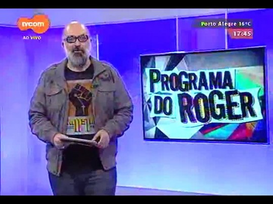 Programa do Roger - Banda Delittus - Bloco 1 - 02/09/2014