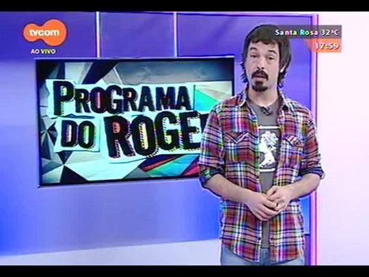 Programa do Roger - Alexandre, da banda Tópaz, fala sobre o acidente de Chris Möller - Bloco 2 - 23/10/2014