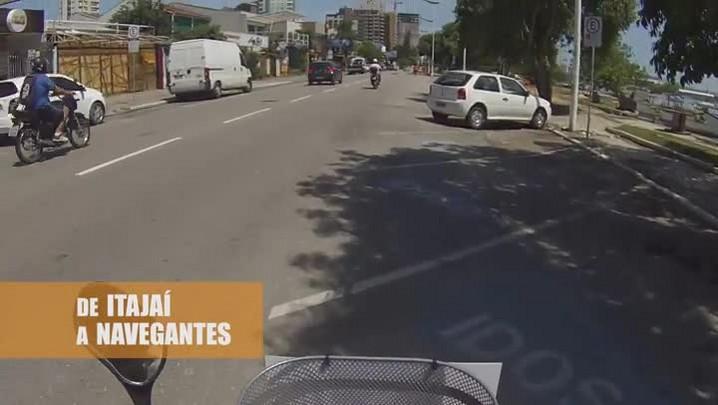 Bike Repórter: de Itajaí a Navegantes