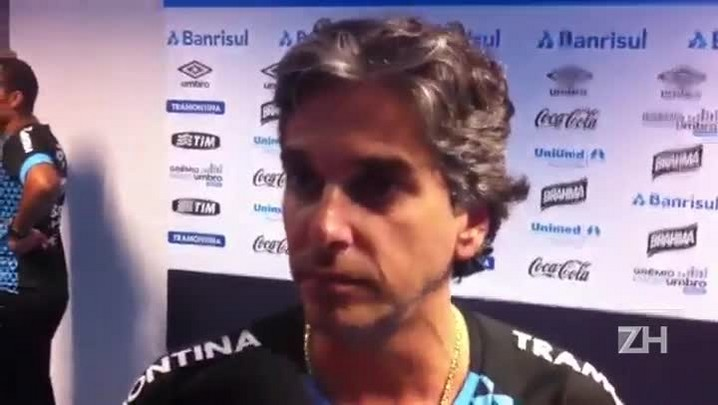 Médico do Grêmio fala sobre a recuperação de Ramiro