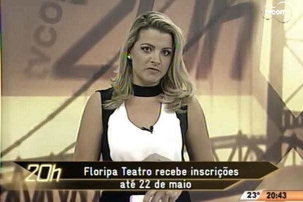 TVCOM 20 Horas - Floripa Teatro recebe inscrições até 22 de maio - 28.04.15