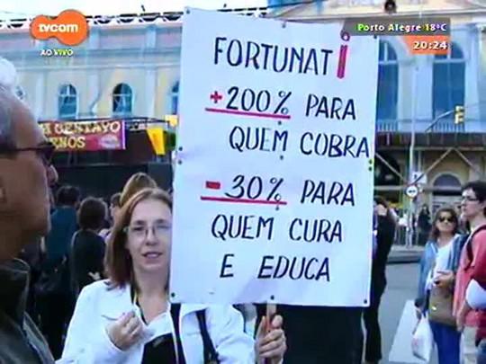 TVCOM 20 Horas - Municipários de Porto Alegre decidem nesta quinta-feira se haverá greve - 13/05/2015