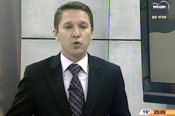 TVCOM 20 Horas - Bandidos assaltam cooperativa de crédito em Chapecó - 07.07.15