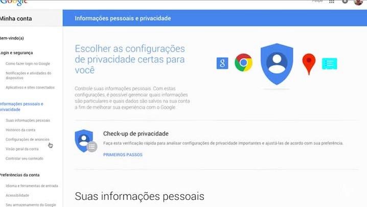 Como desativar anúncios baseados em buscas do Google