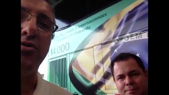 Organizador da viagem a Buenos Aires fala da expectativa para o jogo da Chapecoense