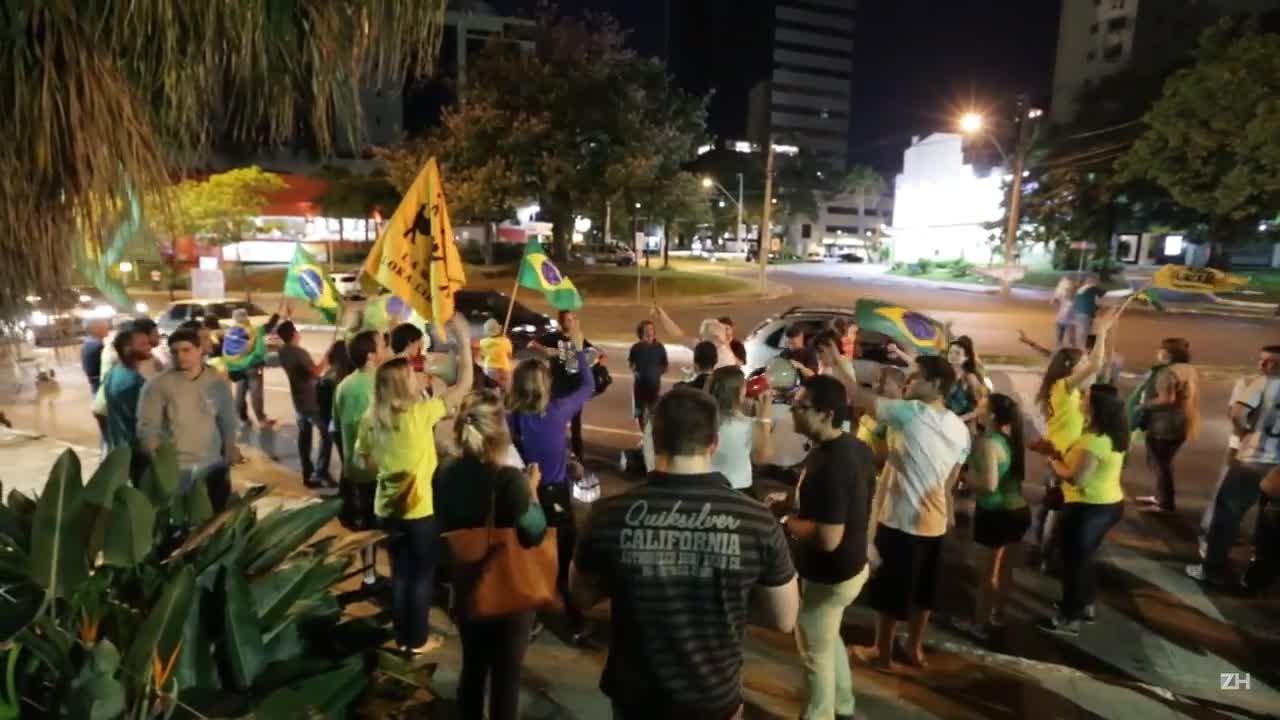 No Parcão, acampamento dá apoio a Sergio Moro